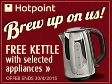 Free Hotpoint Kettle