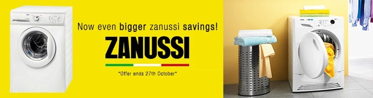Even Bigger Zanussi Savings