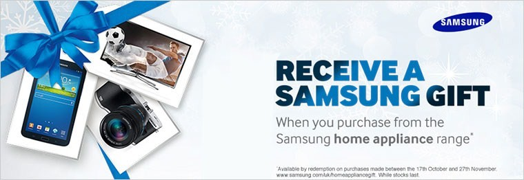 Samsung Receive A Gift