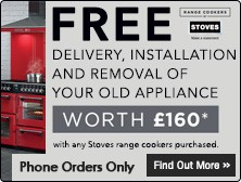 Stoves Special Offer - Free Delivery and Installation