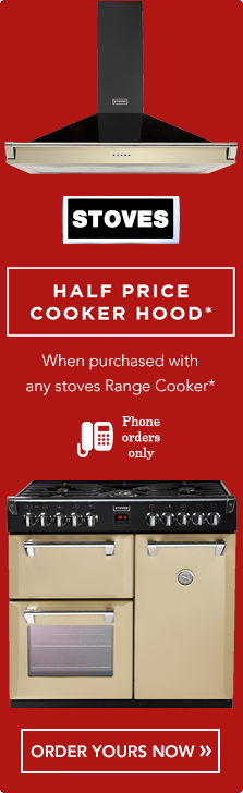 Stoves Half Price Cooker Hood Offer