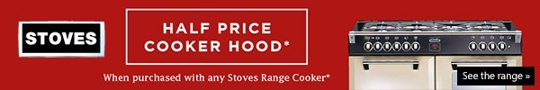 Stoves Half Price Hood Offer