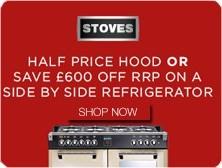 Stoves Half Price Hoods Promo