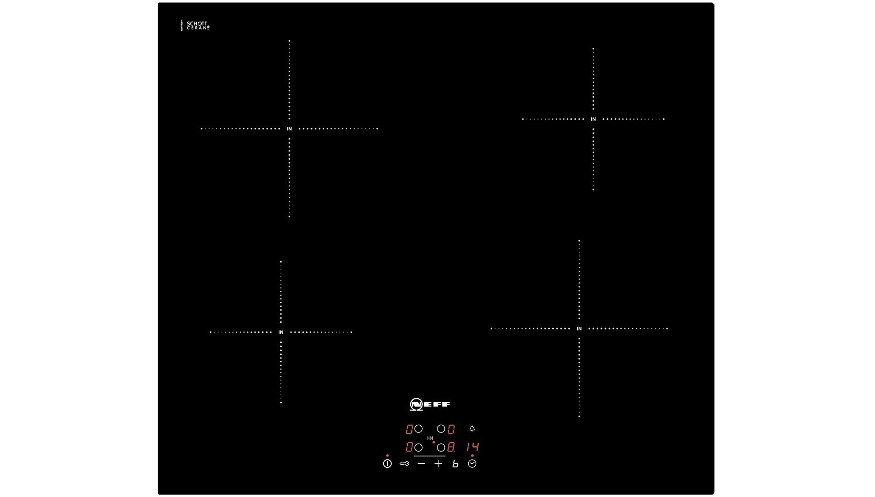 t40b31x2gb induction hob