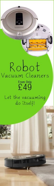 Robot Vacs from £59