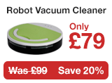Robot Vacuum Cleaner only £59