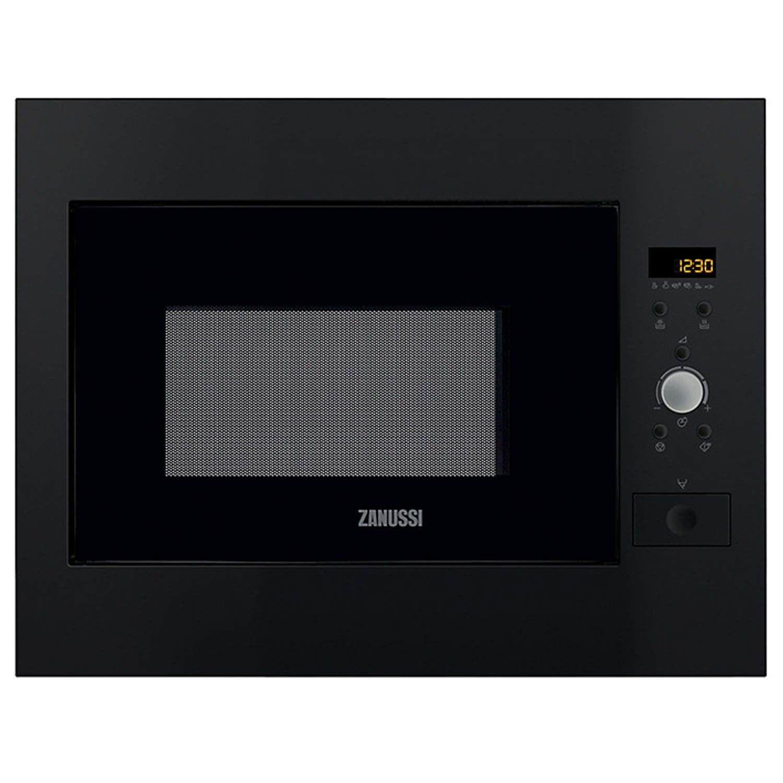 Zanussi ZBM26542BA Builtin inclusive frame Microwave Oven in Black