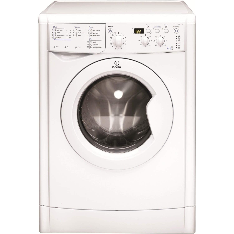 Indesit IWDD7123 7kg Wash 5kg Dry 1200rpm Freestanding Washer Dryer  White