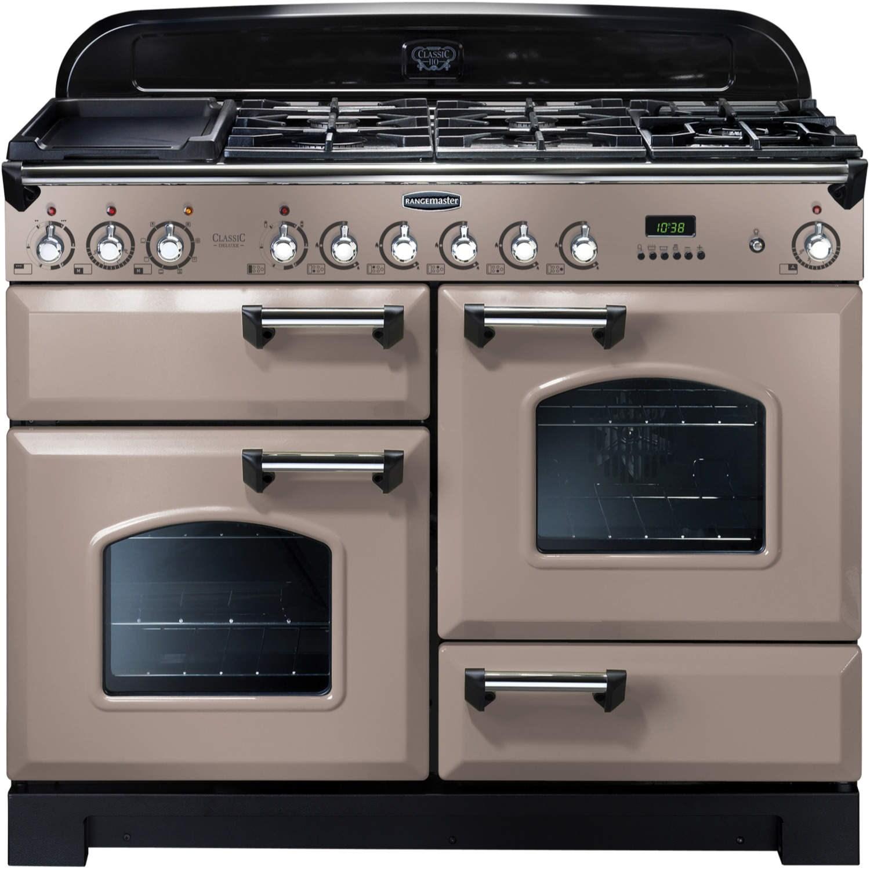 Rangemaster 86680 Classic Deluxe 110cm Dual Fuel Range Cooker