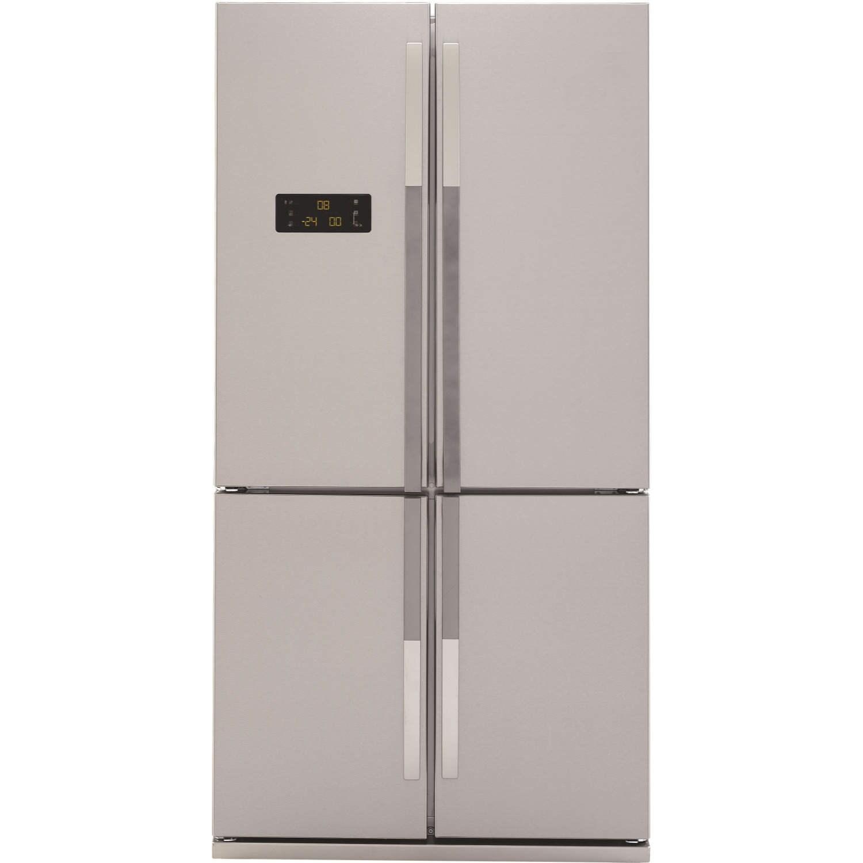 Beko GNE114610APX 4door American Fridge Freezer  Stainless Steel