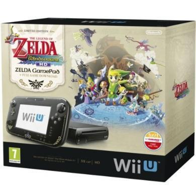 Nintendo Wii U Zelda Wind Waker HD Premium Pack