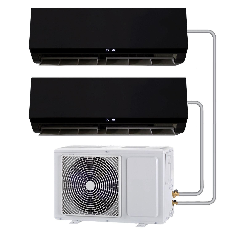 Multi-split 18000 BTU Black  Inverter Air Conditioner