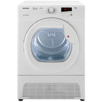 hoover vtc791nb 80 vision hd 9kg freestanding condenser tumble dryer white appliances direct. Black Bedroom Furniture Sets. Home Design Ideas