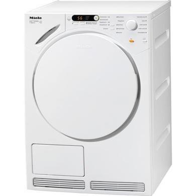 miele t7944c 7kg freestanding condenser tumble dryer in white. Black Bedroom Furniture Sets. Home Design Ideas