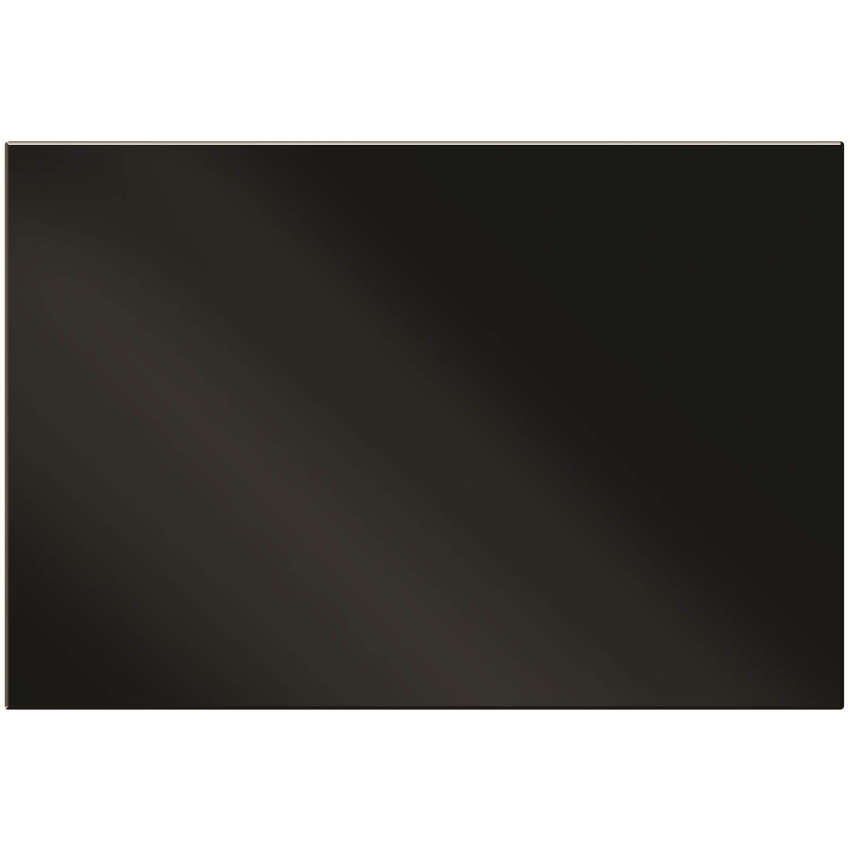 Smeg SPG110NE Plain Glass Splashback Black 110cm W x 75cm H